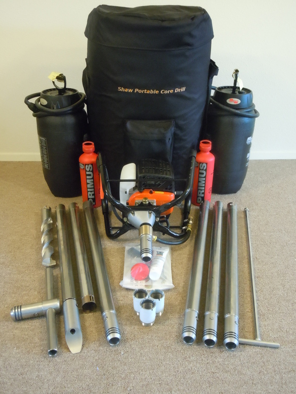 Introduction To Shaw Backpack Drill Diamond Core Drilling Products